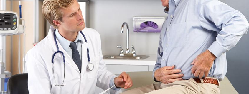 visita specialistica ortopedica all'anca